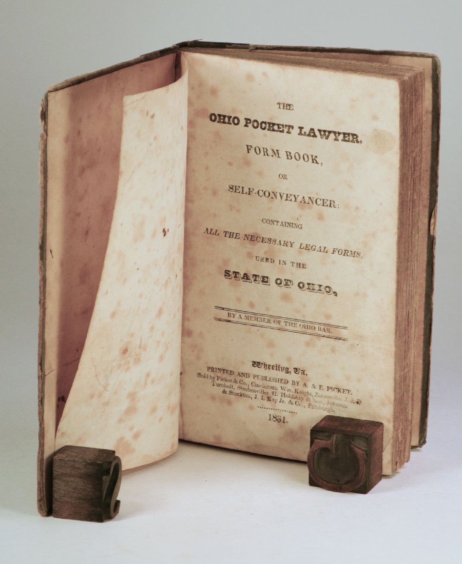 The Ohio Pocket Lawyer Form Book Or SelfConveyancer Containing - Ohio legal forms