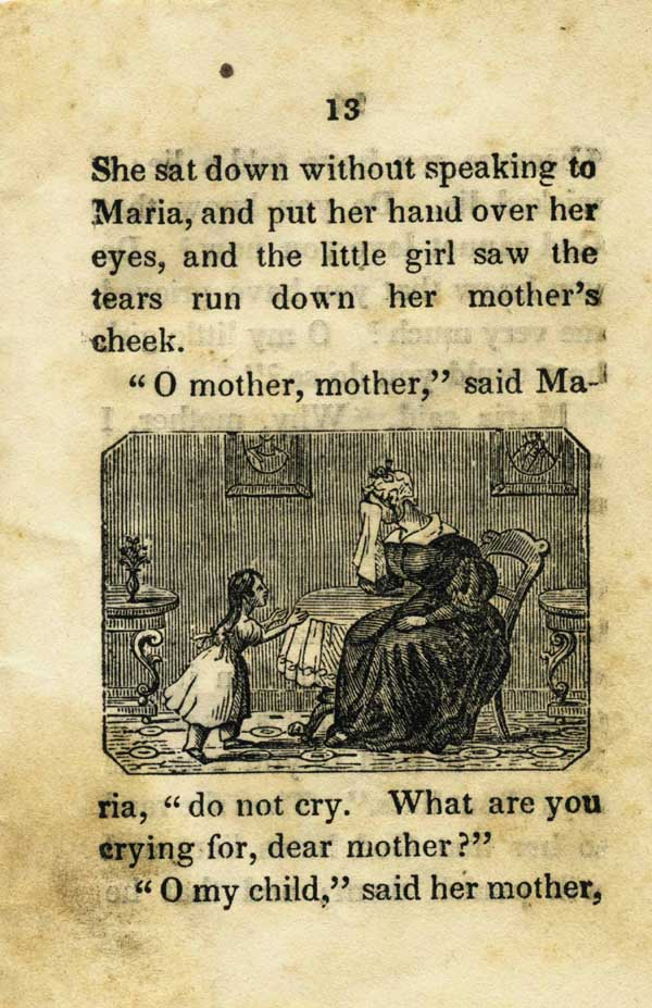 The First Lie. Written for the Am. S. S. U. and Revised by the Committee of Publication. Children's Literature, Anonymous.