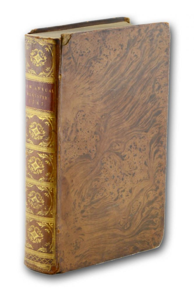 The New Annual Register, or General Repository of History, Politics, and Literature for the Year 1787. United States Constitution, William Godwin.