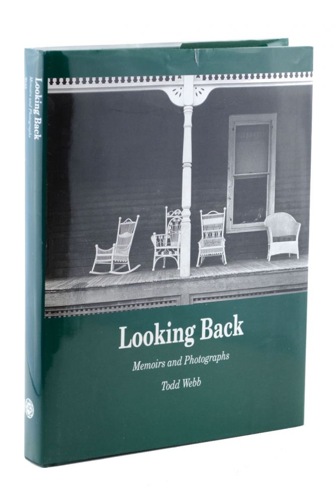 Looking Back: Memoirs and Photographs . . . Foreword by Michael Rowell. Todd Webb.