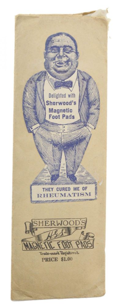 Sherwood's Magnetic Foot Pads . . . [label title]. Magnetic, Henry G. Sherwood.