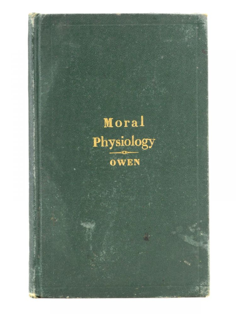 Moral Physiology; or, A Brief and Plain Treatise on the Population Question . . . Tenth Edition, with Notes by the Publisher. Obscenity, Robert Dale Owen, Contraception.