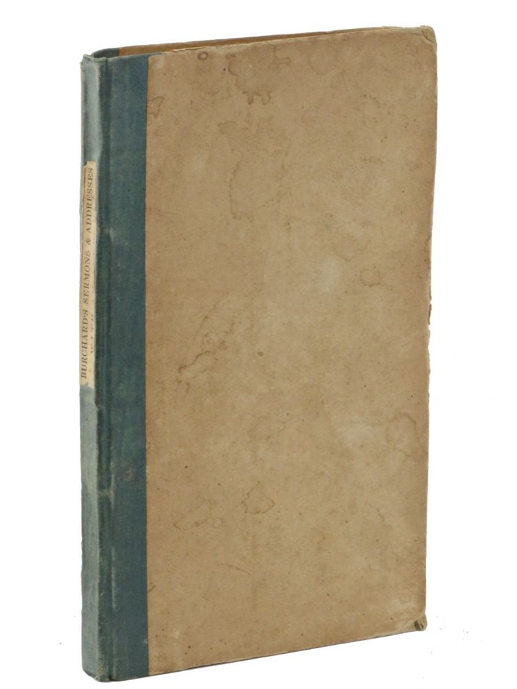 Sermons, Addresses & Exhortations, by Rev. Jedediah Burchard with an Appendix, Containing Some Account of Proceedings During Protracted Meetings, Held Under his Direction, in Burlington, Willison, and Hinesburgh, Vt., December, 1835 and January, 1836. By C. G. Eastman. Revivals, Jedediah Burchard, C. G. Eastman, Charles Gamage.