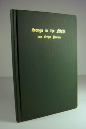 Songs in the Night and Other Poems . . . also, a Memoir of the Author by Silas H. Durand. James...