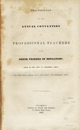 Proceedings of the Annual Convention of Professional Teachers and Other Friends of Education;...