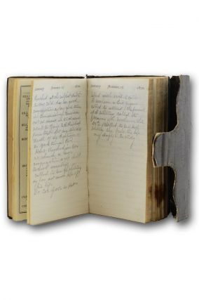 Manuscript journal of the Free Baptist minister A. E. Wilson of Scriba, New York. Free Baptist,...