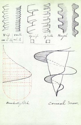 Lecture notes for the History of Achitecture and for Mechanical Drawing. Architecture, Mechanical...