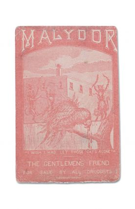 Malydor. The Gentlemen's Friend . . . [Trade card for Malydor, the home injection treatment for gonorrhea]. Malydor.