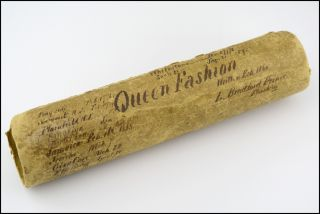 "Original manuscript of his platform lecture, ""Queen Fashion."". Lectures, New Mexico, L. Bradford Prince."