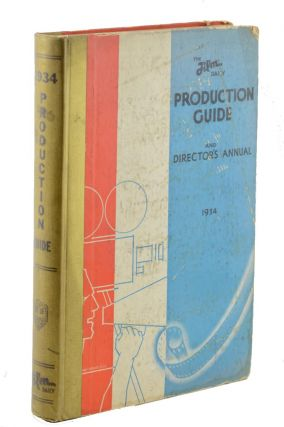 Film Daily Presents a Guide to Motion Picture Production. Jack Alicoate, Editor. Film, Jack Alicoate.