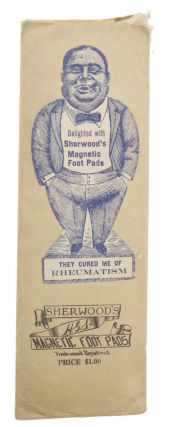 Sherwood's Magnetic Foot Pads . . . [label title]. Magnetic, Henry G. Sherwood