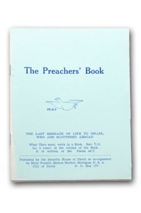 The Preachers' Book [wrapper title]. City of David, Mary Purnell.