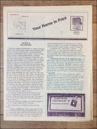 Your Name in Print. Bound Together Newsletter #3 . . . [caption title]. Anarchism, Bound Together...