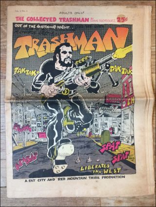 The Collected Trashman . . . [caption title]. Comix, Spain Rodriguez