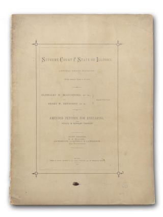 Eliphalet W. Blatchford and William H. Bradley, trustees under the last will and testament of...