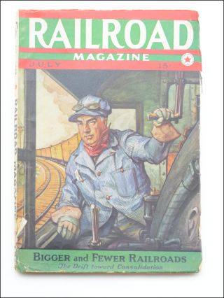 """Boxcar Art."" [In:] Railroad Magazine. Vol. XXVI, No. 2. July, 1939. Graffiti, Arthur W...."