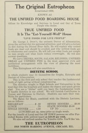 The Unfired-Fooder's (Apyrtropher's) Bulletin. December 1924 [wrapper title].