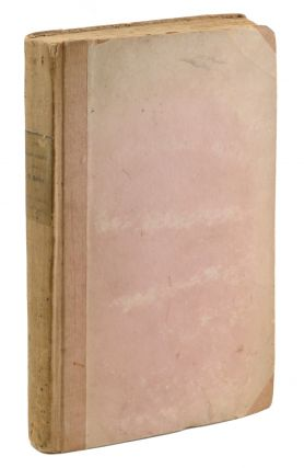 The Manuscript . . . Vol. I. Second Edition. [Bound with, as published:] The Manuscript . . ....