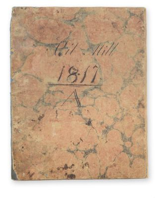 Oil Mill 1817 A [autograph wrapper title; autograph title to the inside front wrapper:] Waste...